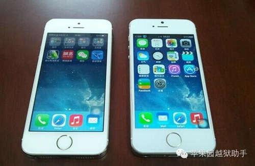 小贩街头兜售假iPhone,一个月可赚几十万
