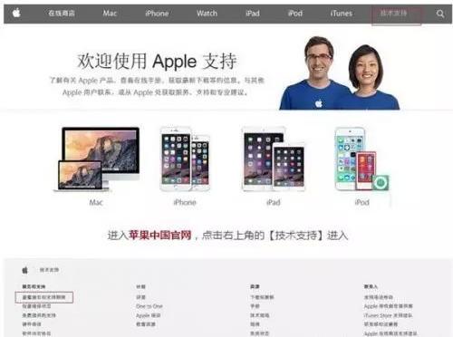 苹果中国官网技术支持