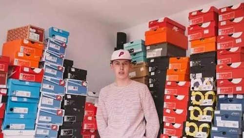 22岁小伙网上卖鞋年入40万 图3